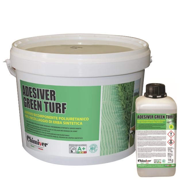 ADESIVER GREEN TURF (A+B) kg 5.5